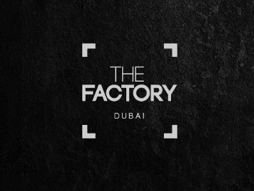 The Factory Photography, Dubai