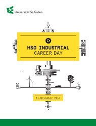 HSG Industrial Career Day 2014