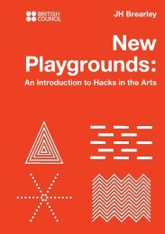 New Playgrounds: An Introduction to Hacks in the Arts
