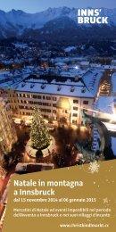 Natale in montagna a Innsbruck