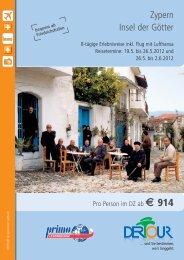 19.05. – 26.05.2012 Zypern – Insel der Götter