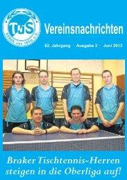 Ausgabe 2 2013, Juni - TUS BRAKE von 1896 - Bielefeld