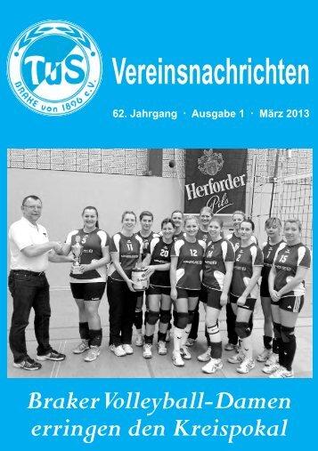 Ausgabe 1 2013, März - TUS BRAKE von 1896 - Bielefeld