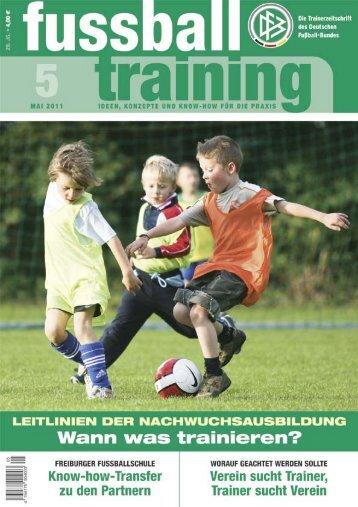 Fussballtraining Magazine