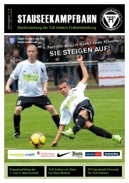 Stadionzeitung der TuS Haltern Fußballabteilung - TuS Haltern am ...