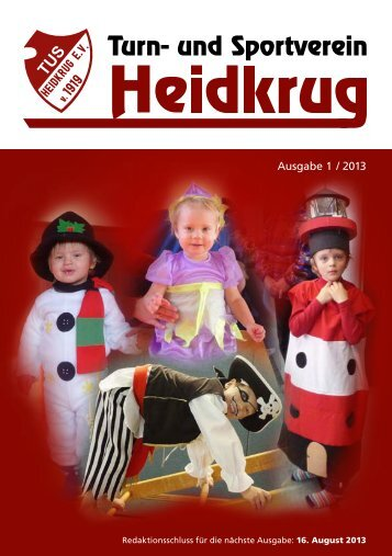 Ausgabe 1 / 2013 - TuS Heidkrug