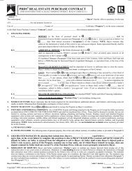 PRDS® REAL ESTATE PURCHASE CONTRACT - Tuscany Real ...
