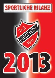 Jahresheft 2013 - beim TuS Fleestedt