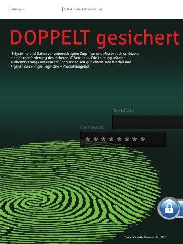 DOPPELT gesichert - Finanz Informatik