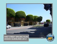 first street specific plan design guidelines 2012 - City of Tustin