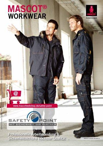 Safety-Point präsentiert den Herbst/Winter Katalog 2014/2015 von Mascot