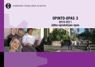 OPINTO-OPAS 3 - Tampereen teknillinen yliopisto