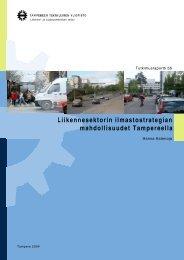 Liikennesektorin ilmastostrategian mahdollisuudet Tampereella