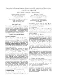 MEATE 2009 Author Instructions