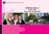 opinto-opas 3 2008–2009 - Tampereen teknillinen yliopisto