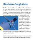 Kurzinformation Windwärts Genussrecht 2006 - Seite 6