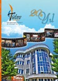 Tutev Teknik Dergisi 19.sayı - Türkiye Teknik Elemanlar Vakfı