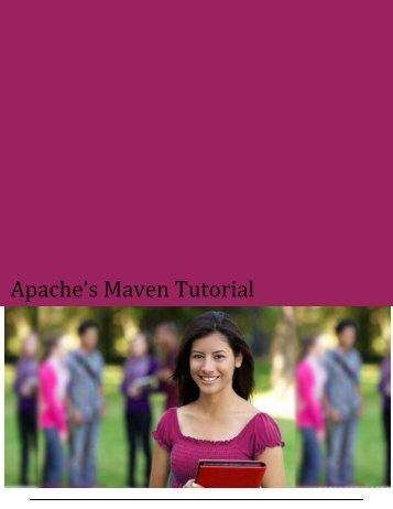 Apache's Maven Tutorial - Tutorials Point
