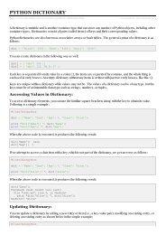 Python GUI Programming (Tkinter) - Tutorials Point