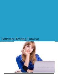 Download Software Testing Tutorial (PDF Version) - Tutorials Point