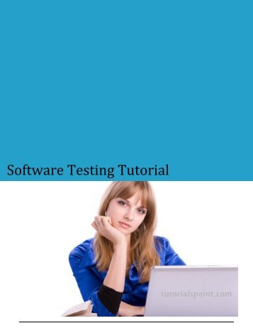 Download Software Testing Tutorial (PDF Version) - Tutorials Point