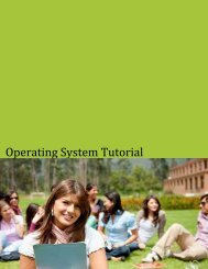 Download Operating System Tutorial (PDF Version) - Tutorials Point
