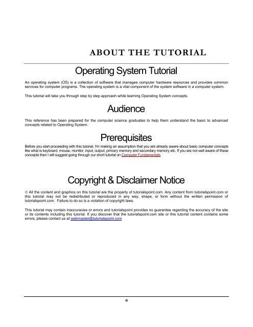 Web services tutorialspoint