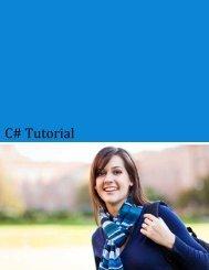 Download C# Tutorial (PDF Version) - Tutorials Point