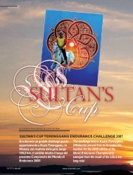 sultan's cup terengganu endurance challenge 2007 - tutto arabi