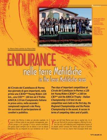 Al Circolo del Castellazzo di Parma due giornate di gare ... - tutto arabi