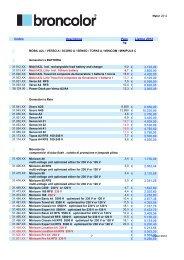 Listino bron 2012master - Tuttofoto