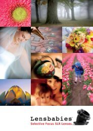 Selective Focus SLR Lenses - Tuttofoto