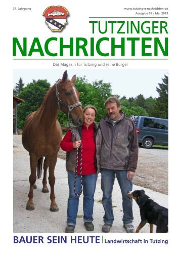 Download Heft 05 / Mai 2013 - Tutzinger Nachrichten