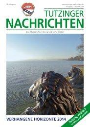 Download Heft 01 / Januar 2014 - Tutzinger Nachrichten