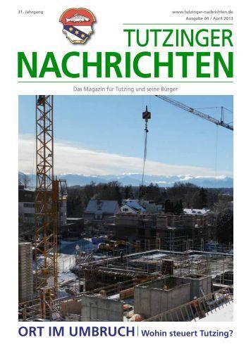 Download Heft 04 / April 2013 - Tutzinger Nachrichten