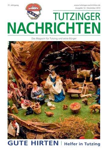 Download Heft 12 / Dezember 2013 - Tutzinger Nachrichten