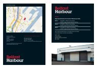 Location map - Belfast Harbour