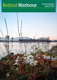 Environmental Report 2010 - Belfast Harbour
