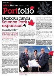 Harbour funds Science Park expansion - Belfast Harbour