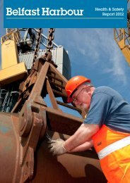 Health & Safety Report 2012 - Belfast Harbour