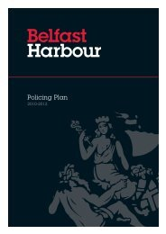 Policing Plan - Belfast Harbour