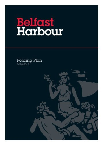 Policing Plan - Belfast Harbour