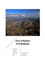 VTS Manual - Belfast Harbour