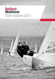 Tide Tables 2013 (Amended) - Belfast Harbour