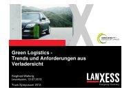 LANXESS - Tuv