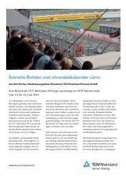 lesen - TÜV Rheinland