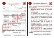 Neues Mitglied - Turnverein 1908 Gladenbach eV