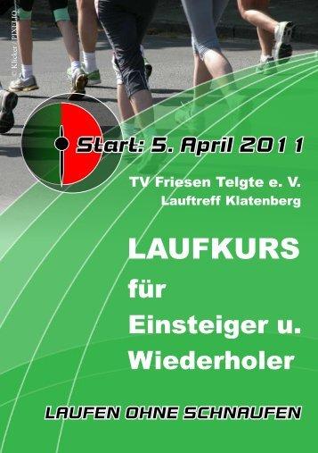 LAUFKURS - TV Friesen Telgte eV