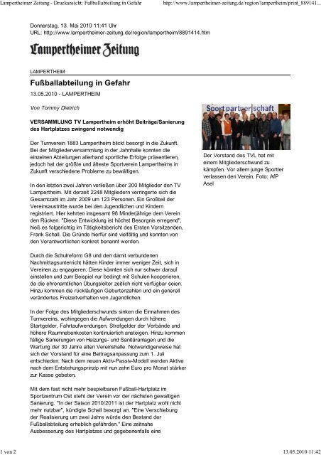 Lampertheimer Zeitung Dru Tv Lampertheim