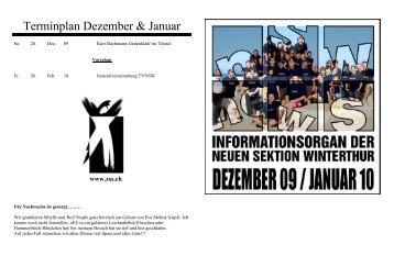 NS-News Dezember 09 / Januar 10 - TV neue Sektion Winterthur